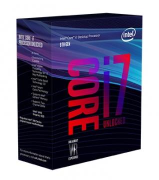 INTEL 盒裝Core i7-8700K