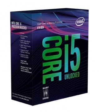 INTEL 盒裝Core i5-8600K
