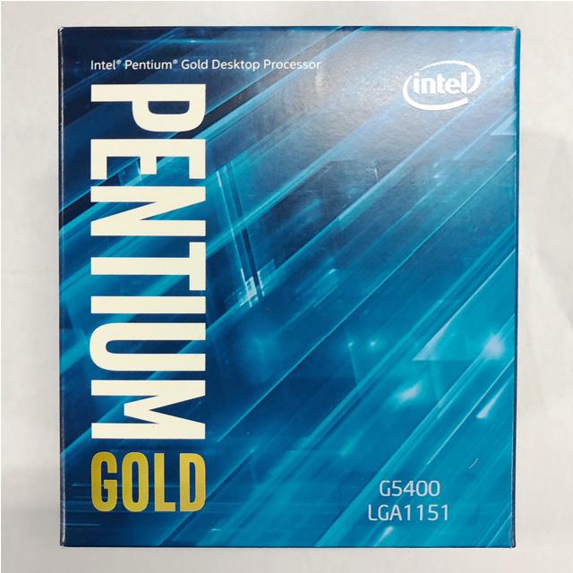Intel Pentium G5400 處理器(盒裝)