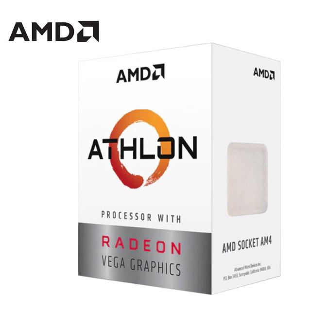 AMD Athlon-3000G 雙核心 中央處理器