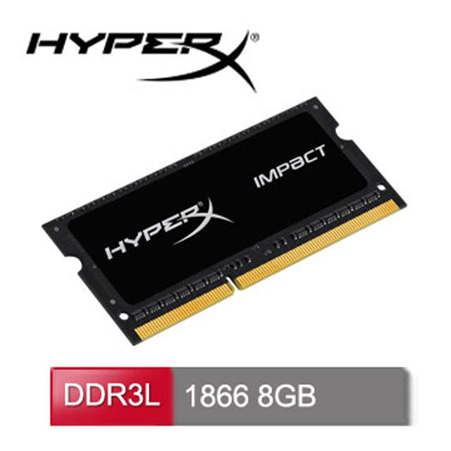 HyperX Impact DDR3L-1866 8GB 筆電超頻記憶體(HX318LS11IB/8)