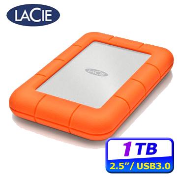 LACIE Rugged 1TB USB3.0/Thunderbolt雙介面2.5吋行動硬碟