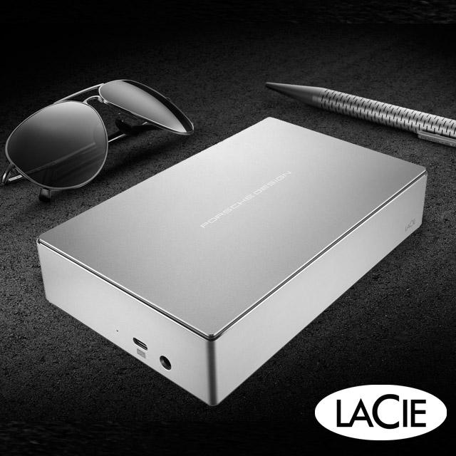 LaCie Porsche Design 6TB USB3.1 TypeC 3.5吋外接硬碟