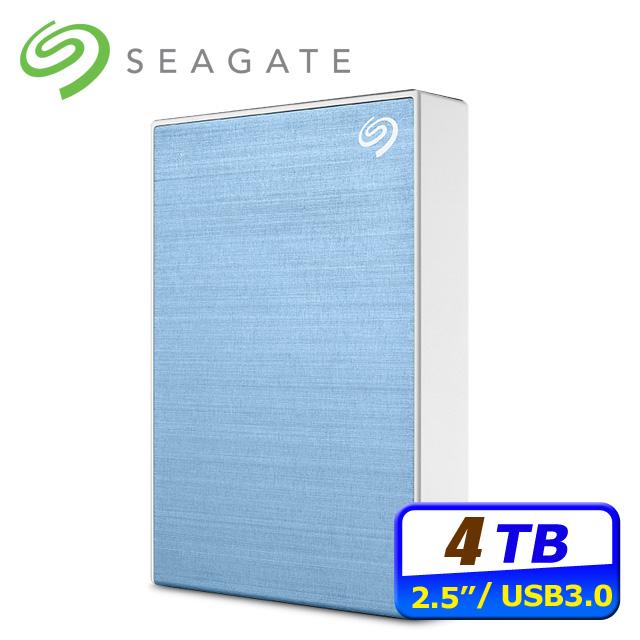 Seagate Backup Plus Portable 4TB USB3.0 2.5吋行動硬碟-藍