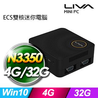 ECS LIVA ZE(N3350/4G/32G/Win10)