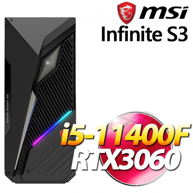 MSI Infinite S3 11TC-015TW(i5-11400F/8G/256G+1T/RTX3060-12G/Win10)