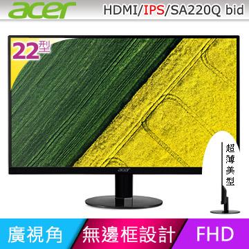 acer SA220Q bid 22型IPS寬螢幕