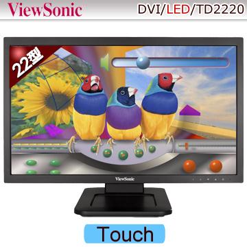 優派ViewSonic TD2220 22型觸控螢幕(內建喇叭)