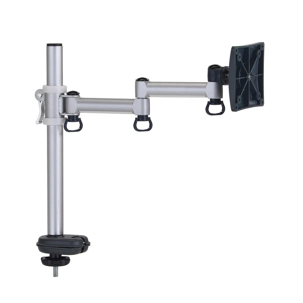FOGIM穿桌懸臂式液晶螢幕支架(單螢幕)終身保固-TKLA-5082C4-S-A