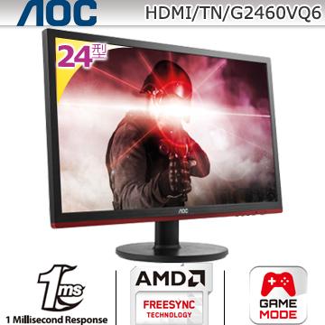 ★原價$4888↘狂降特賣→要買要快★AOC G2460VQ6 24型電競寬螢幕