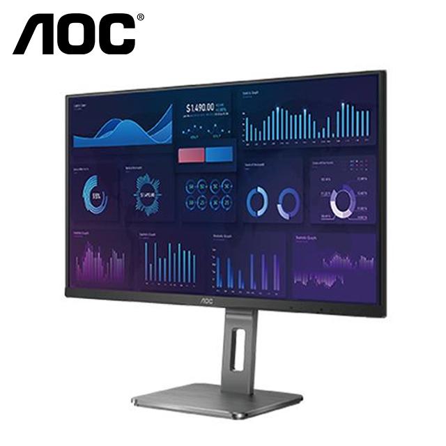 AOC 28型 U28P2U 4K 螢幕顯示器