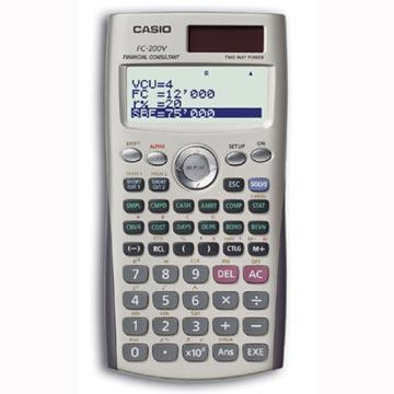 Casio 財務型計算機FC-200v