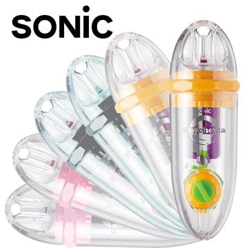 Sonic 超輕便可調式 雙迴旋削鉛筆機10入(桔/SK-878)