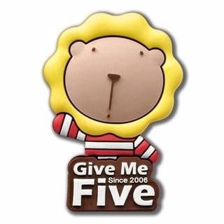 奶油獅Give me 5 個性磁鐵