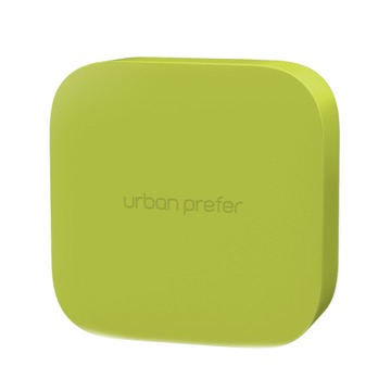 urban prefer / MONI 磁吸式小物收納盒 黃綠色