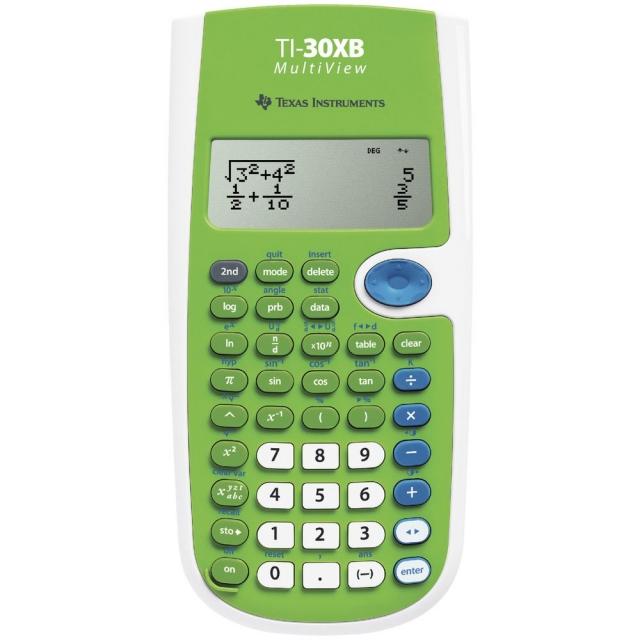 TI-30XB MultiView工程用計算機(SAT/AP/ACT/SOA考試指定)