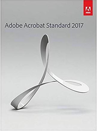 Adobe Acrobat Standard 2017 標準中文版 for windows