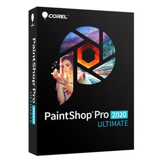PaintShop Pro 2020 旗艦版盒裝版