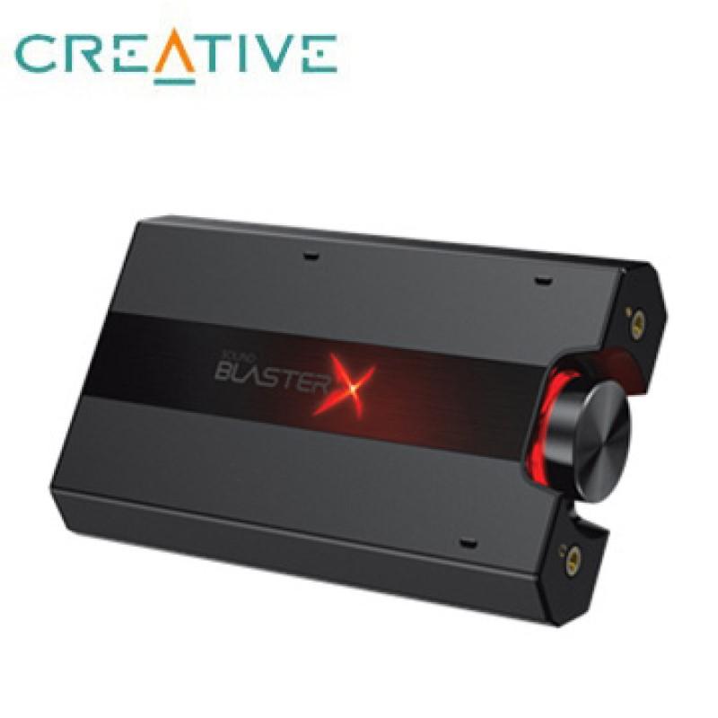 Creative Sound Blasterx G5頂級7.1 聲道HD便攜式具耳擴功能USB音效卡