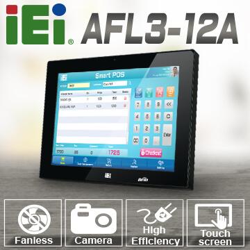 IEI 威強電 AFL3-12A 觸控平板電腦,商業級智慧解決方案!
