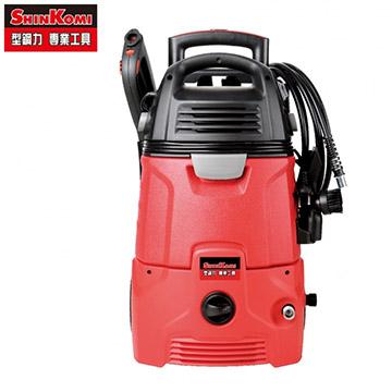 [家事達] SHIN KOMI 型鋼力 SK-PSV102 二合一插電式高壓清洗機+乾濕兩用吸塵器 一機兩用操作方便