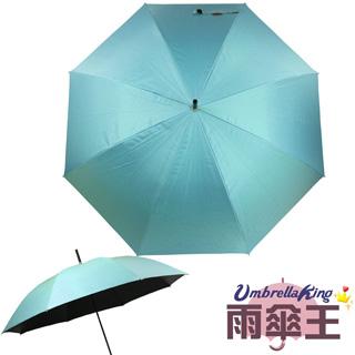 ◤雨傘王◢BigRed輕巧無敵直傘-水藍