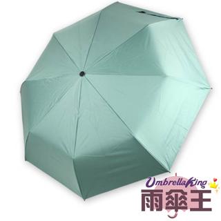 【雨傘王-終身免費維修】23吋熊安心安全自動傘-綠色