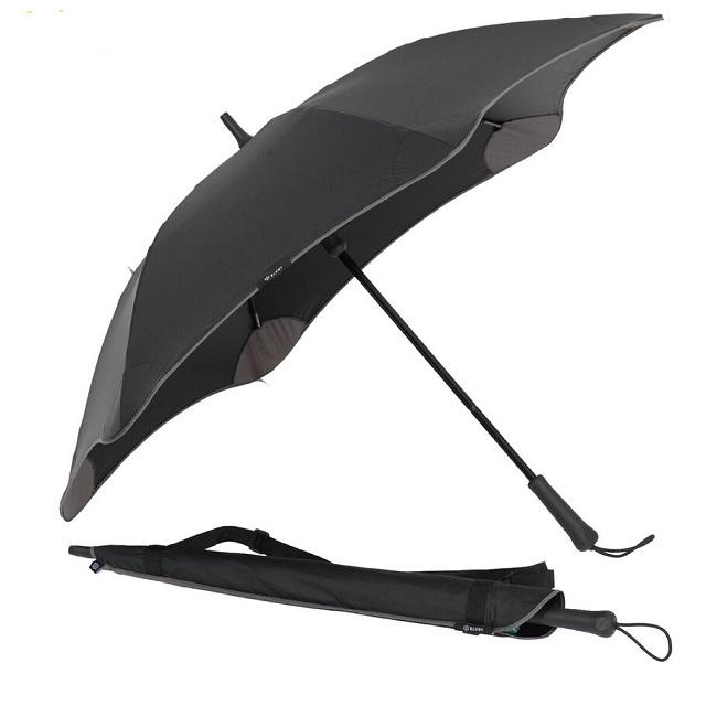 紐西蘭【BLUNT】保蘭特 抗強風功能傘 CLASSIC UV+ 完全抗UV經典直傘 (時尚黑)