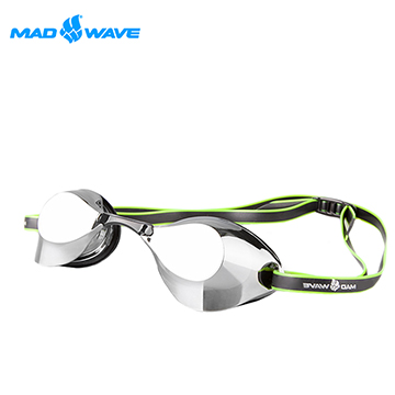 俄羅斯MADWAVE成人泳鏡TURBO RAICER II MIRROR