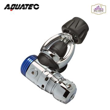 AQUATEC RG-1100F (Yoke) 潛水活塞式一級頭調節器 YOKE