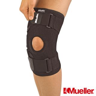 MUELLER慕樂 醫療型Neoprene彈簧膝關節 護 具 黑色x2