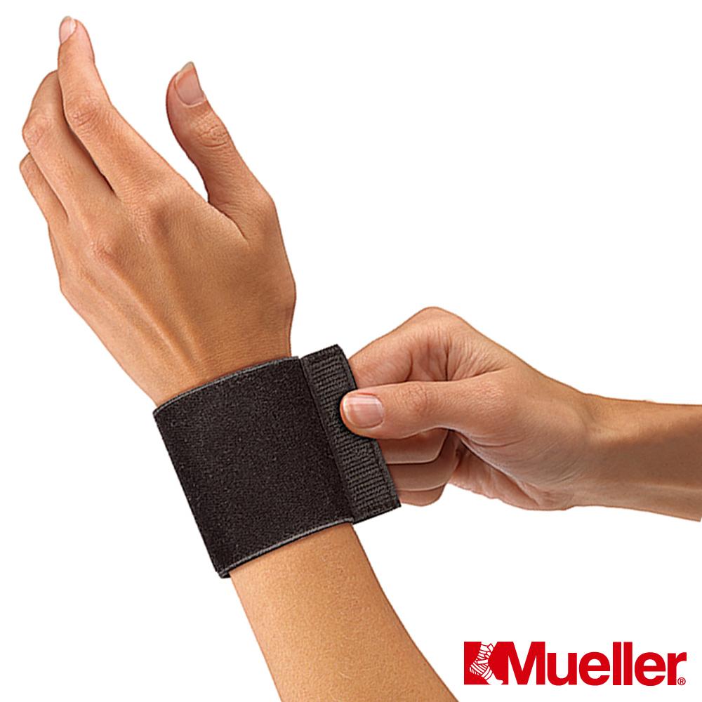[福利品]MUELLER慕樂 腕關節彈性護具 黑色