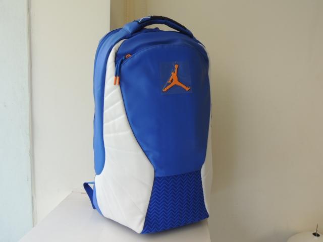 JORDAN RETRO 12 PACK大背包_藍白款