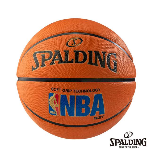 SPALDING 斯伯丁 SGT 深溝柔軟膠 - 經典橘 NBA 籃球 7號