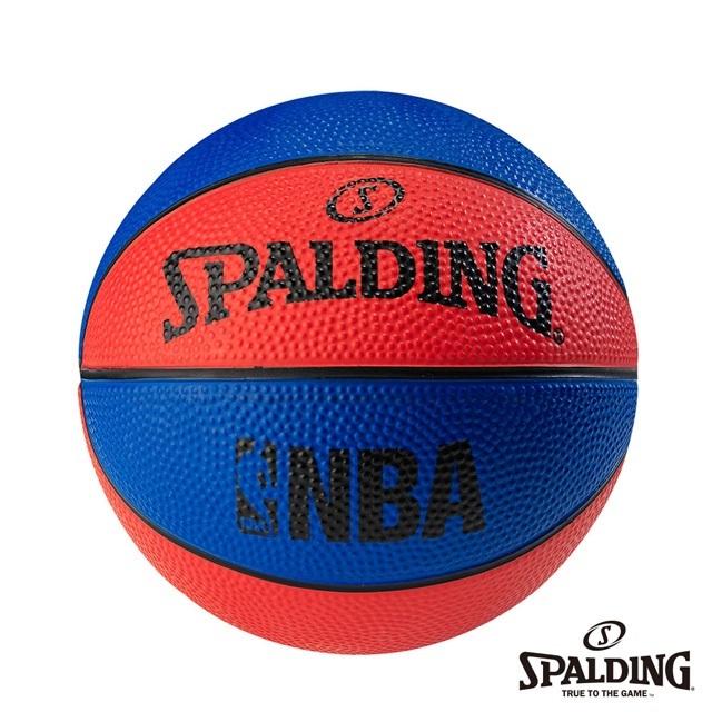 SPALDING 斯伯丁 NBA NO.1 迷你小球 藍/紅 籃球