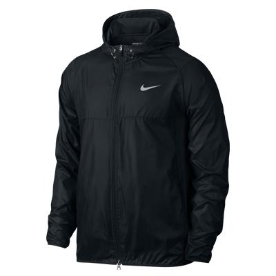Nike Golf防風超輕長袖連帽外套-黑726569-010