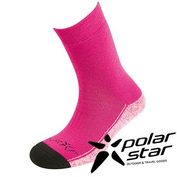 PolarStar 羊毛保暖襪 │ 雪襪 │台灣製造 『桃粉紅』P15610