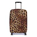【Bibelib】法國設計品牌 彈性行李箱套-非洲豹