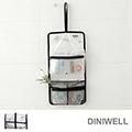 【JD】DINIWELL透明折疊旅行漱洗收納包