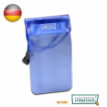 曜兆DIGITUS手機平板防水防塵袋藍色(10*15公分)