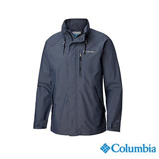 Columbia哥倫比亞 男款- Omni-TECH 防水外套-深藍 UWE12840NY