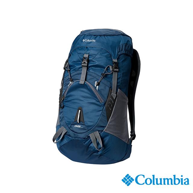Columbia哥倫比亞 中性-38L後背包-深藍 UUU12400NY