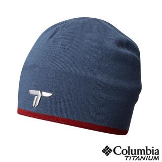 Columbia哥倫比亞 中性-鈦 保暖快排毛帽-墨藍 UCU92460IB