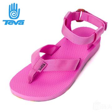 美國 TEVA ORIGINAL SANDAL MSRBLED 夾腳水陸涼鞋 女 炫彩粉 #6932