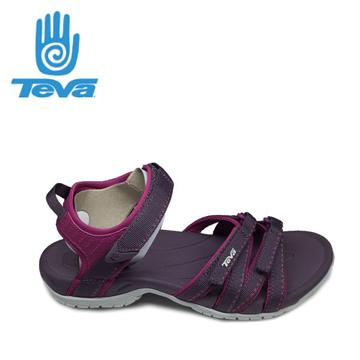 美國TEVA Tirra多功能運動涼鞋女深紫#4266