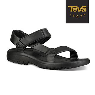 TEVA 美國-中/大童 Hurricane Drift 水陸輕量涼鞋 (黑-TV1102483CBLK)