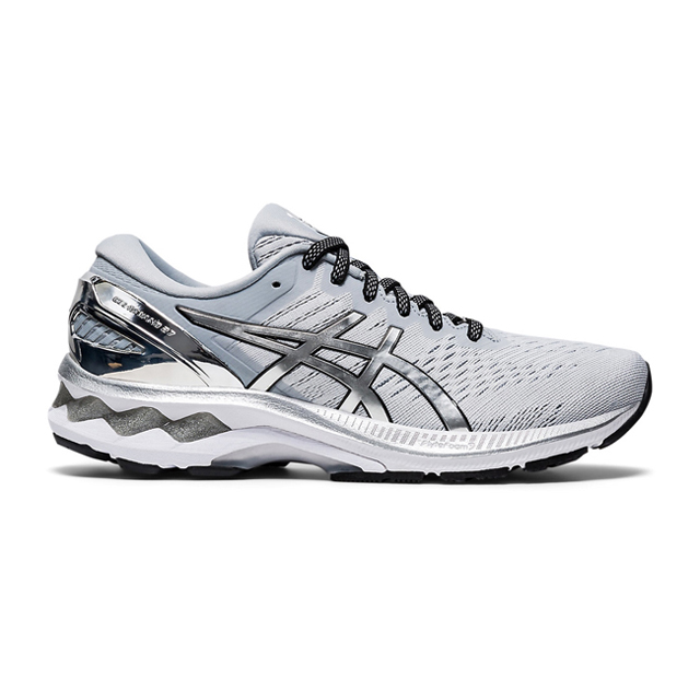 ASICS 亞瑟士 GEL-KAYANO 27 PLATINUM 女跑鞋 1012A763-020