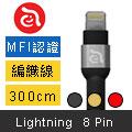 【亞果元素】Adam Line PeAk 300B 金屬編織線 USB正反插設計 (三色可選)