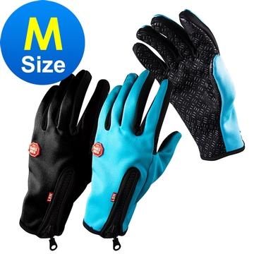 M Size 手機平板觸控螢幕防風手套