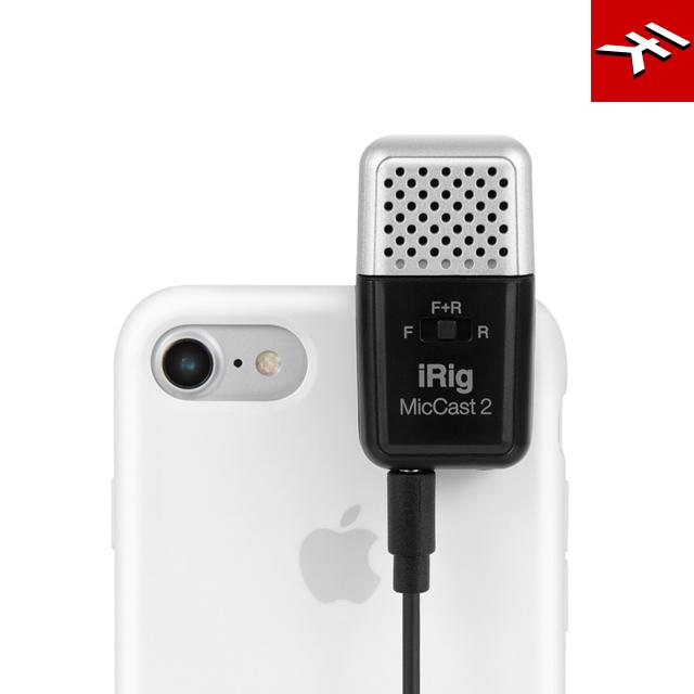 IK Multimedia iRig Mic Cast 2 磁吸式錄音麥克風